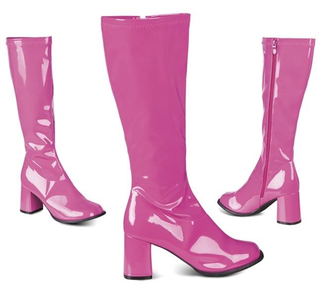 Stiefel Retro pink Größe 38