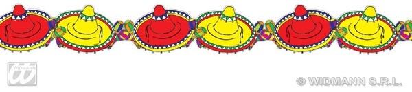 Girlande - Mexiko Sombrero ca 3m