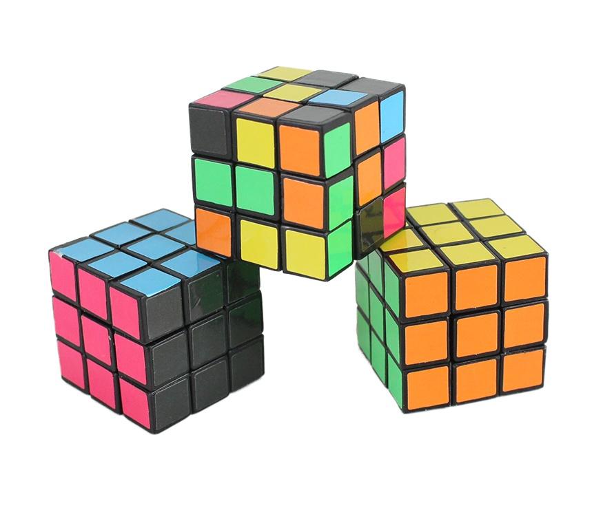 Puzzle Würfel ca 3 x 3 x 3 cm