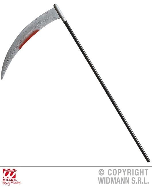 Sichel mit ,Blut, befleckt ca 107 cm