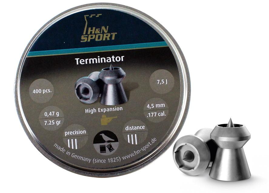 H&N Terminator  Diabolo 4,50 mm