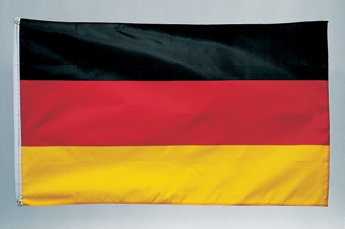 Deutschlandflagge  ca. 90 x 150 cm