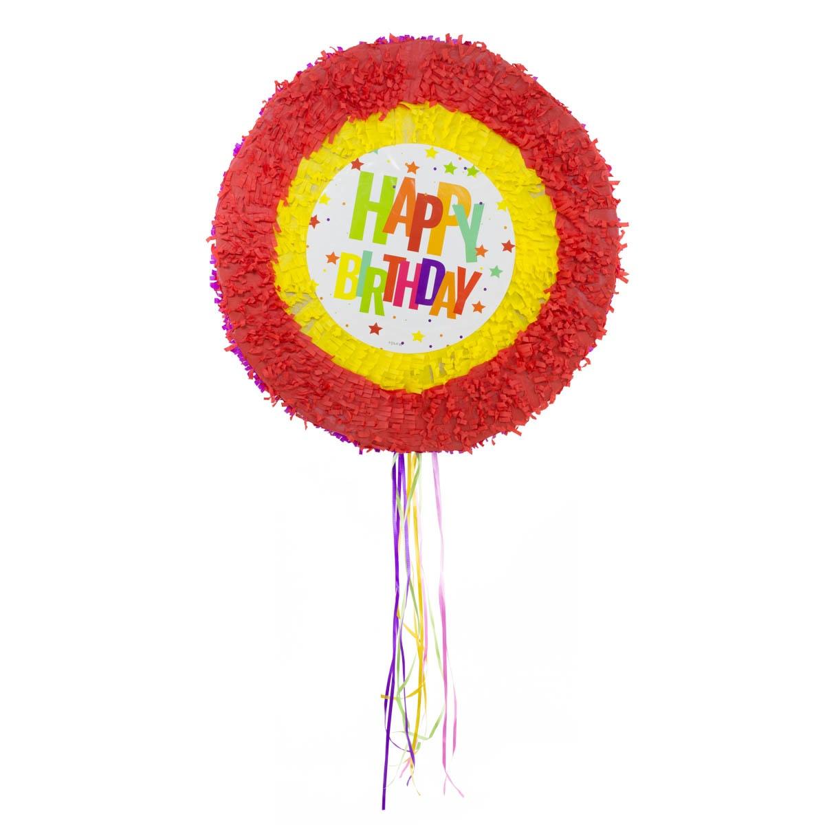 Pinata Happy Birthday Sterne ca 48cm