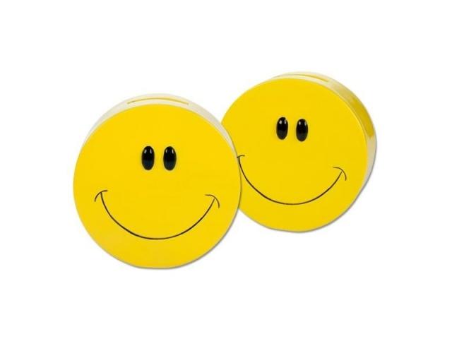 Spardose Smiling Faces Lachgesicht Ø ca 11 cm