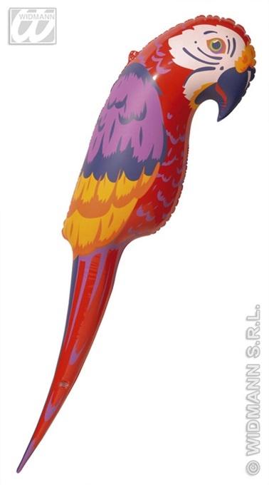 Papagei - aufblasbar ca 110cm