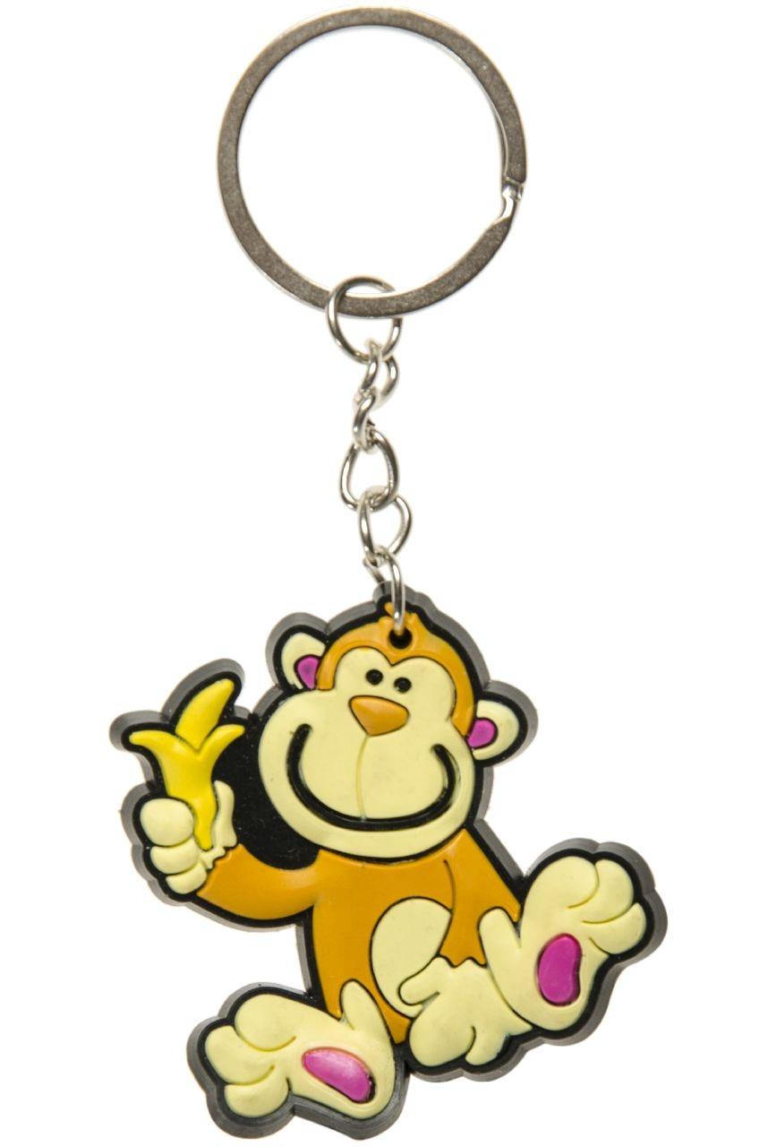 Affe an Schlüsselanhänger