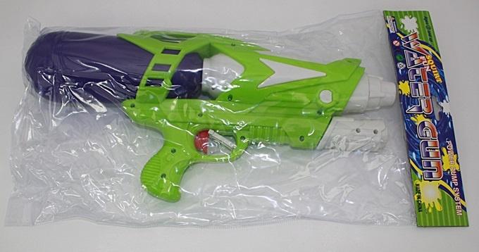 Wasser Pump Gun 2-fach sortiert - ca 38 cm