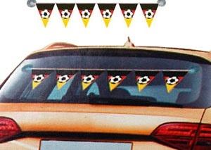 Deutschland Wimpelkette fürs  Auto - ca 100cm