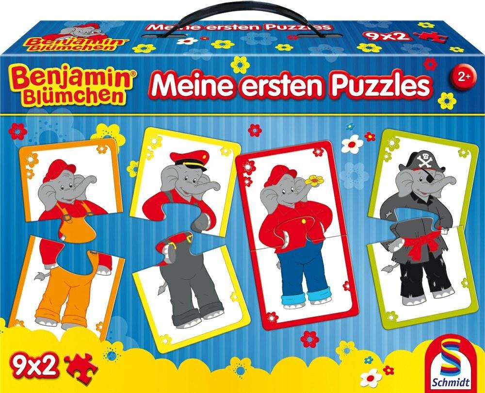 Schmidt Spiele Benjain Blümchen -Meine erstes Puzzle