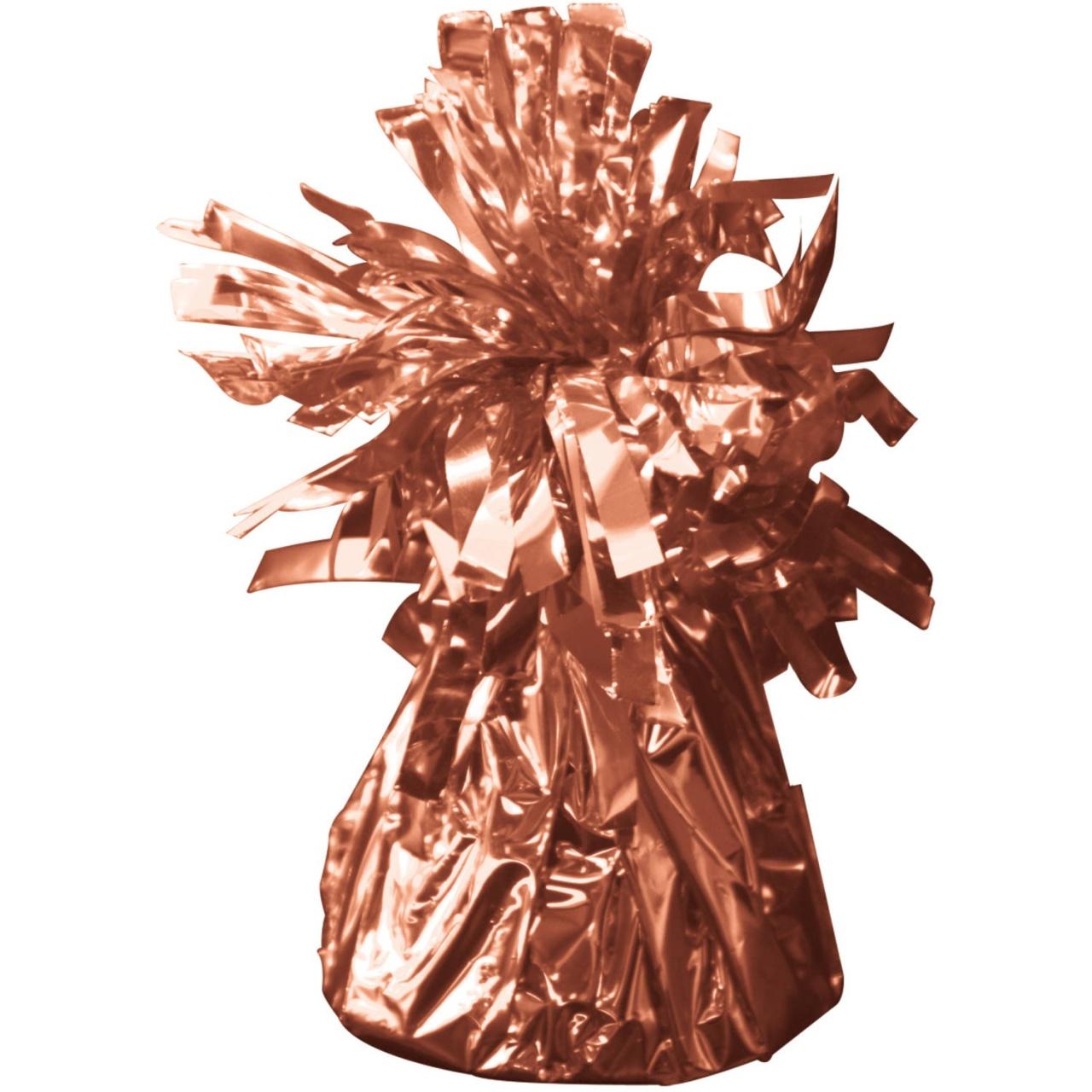 Ballongewicht in Folie roségold ca 145-170 g