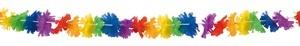 Girlande - Blumengirlande Regenbogen 3 Meter