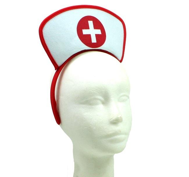 Haarreif Krankenschwester im Beutel ca 29x21cm