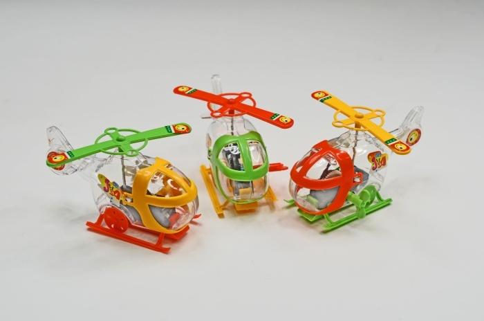 Hubschrauber 3-fach sortiert ca 10 cm