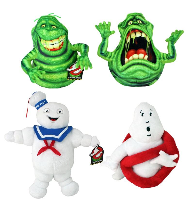 Ghostbusters 4 fach sortiert mit Beanies ca 24-35 cm