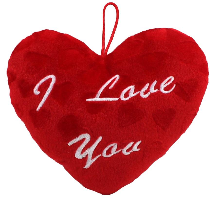 Herz mit Herzmuster ca 25 cm