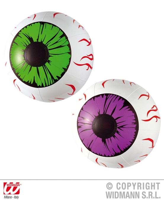 Auge aufblasbares Auge ca 25 cm