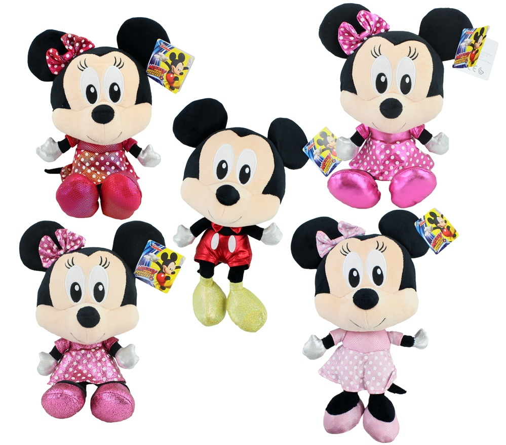 Disney Minnie und Micky 5-fach sortiert ca 26/36cm