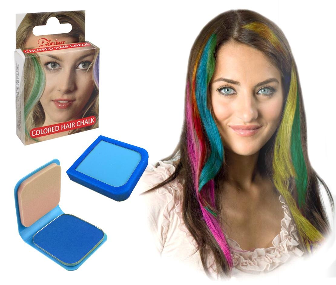 Haarkreide 6g blau