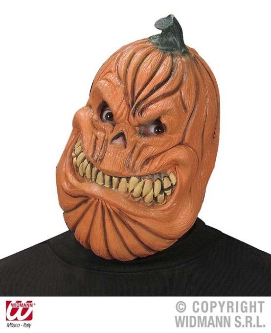 Maske ,Kürbis,