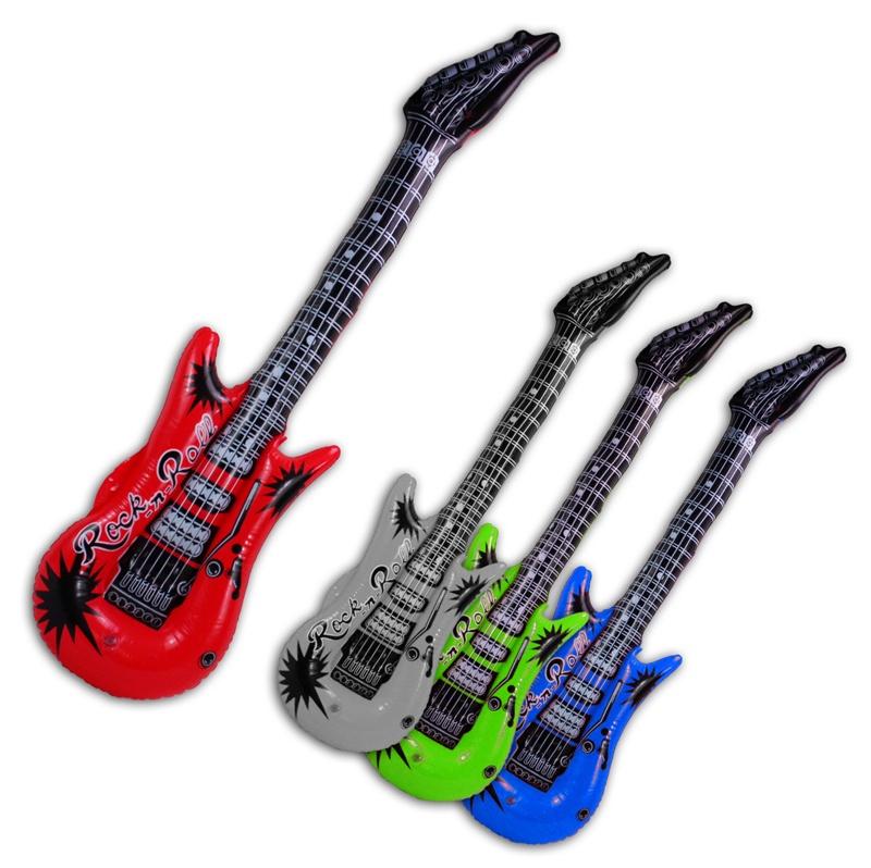 Aufblas Gitarre 4 fach sortiert - ca 100 cm
