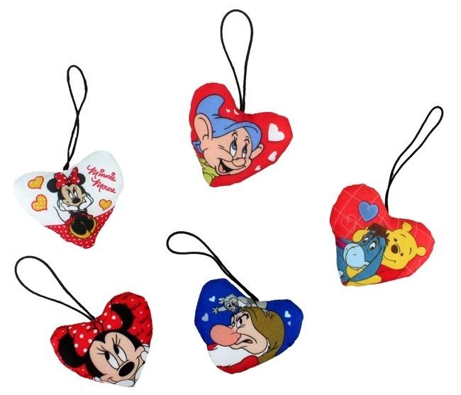 Disney Kissen 5-fach sortiert ca 65 mm