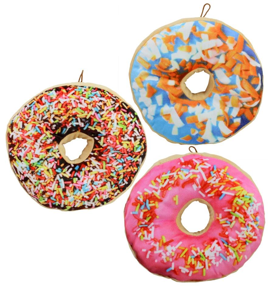 Plüsch Donut 3-fach sortiert - ca 30cm