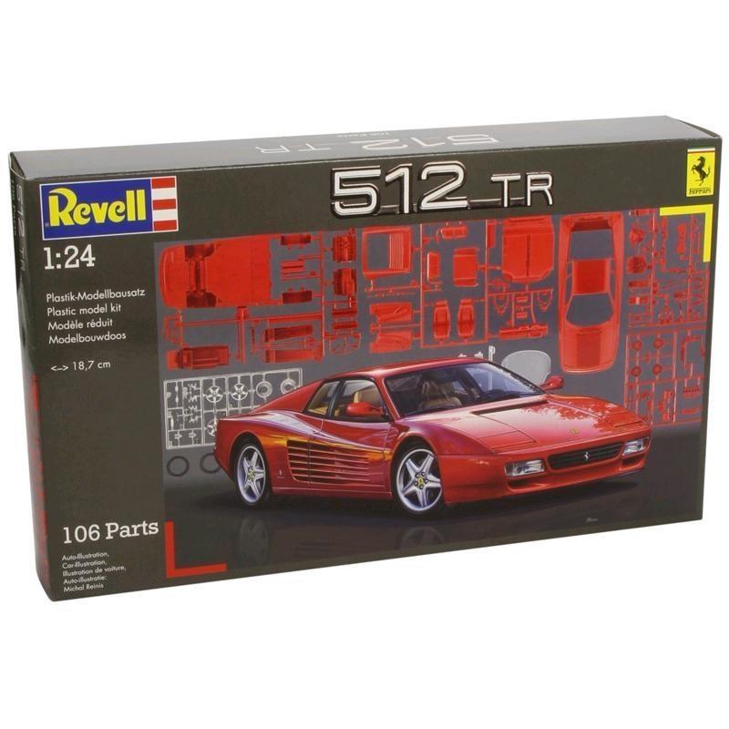 REVELL Modellbausatz Ferrari 512 TR 1:24