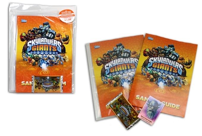 Skylander Giants Starter Pack - im Beutel ca 37x26cm