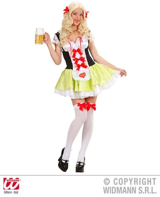 Kostüm Bayrisches Biermädchen Oktoberfest - Größe S