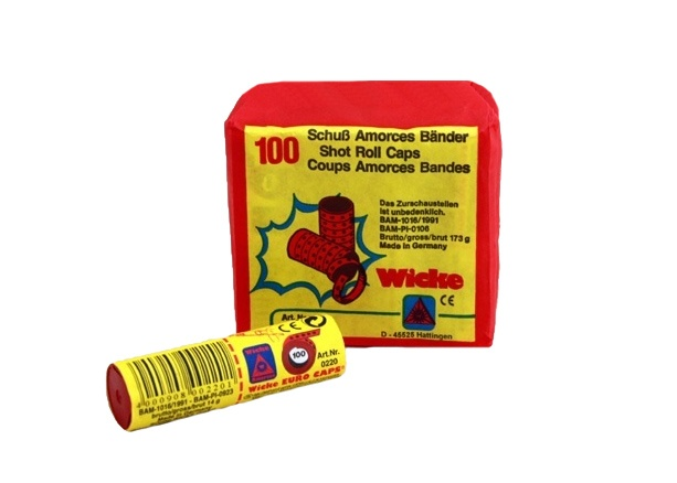 Amorcesbänder - 100-Schuß auf einem Band - 10 Bänder gesamt