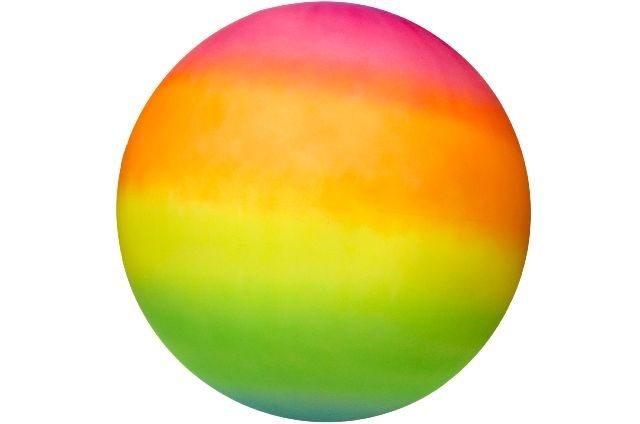 Ball Jumbo in Regenbogenfarben ca 40 cm