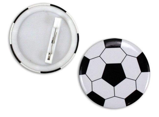 Button Fußball ca 4,5cm