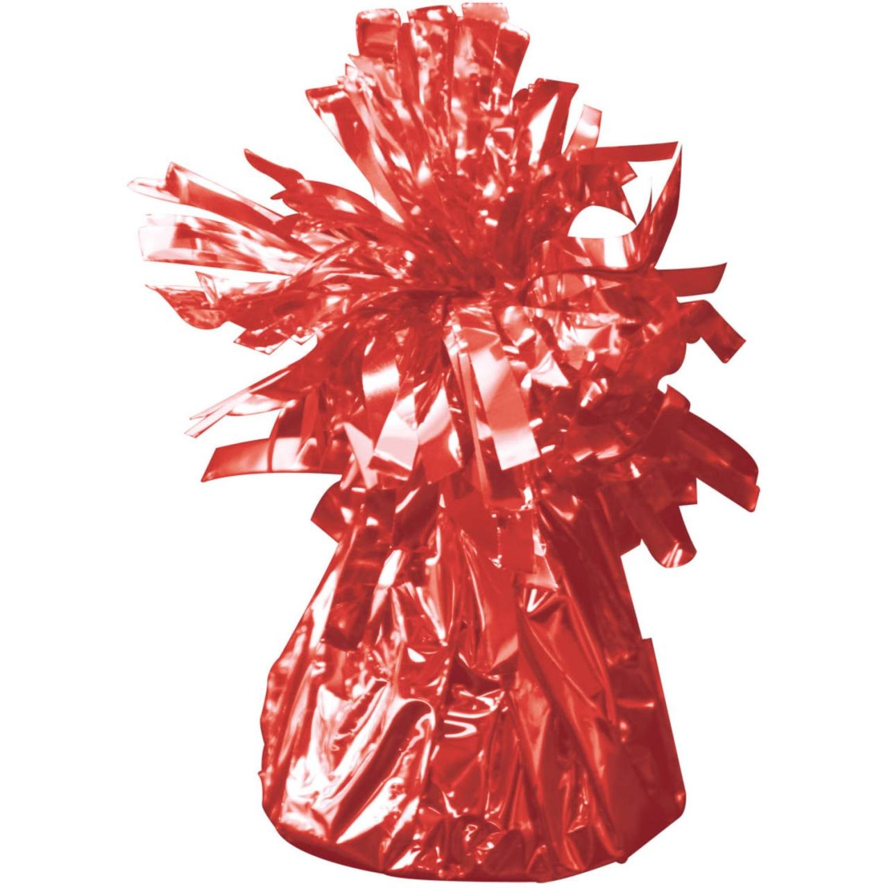 Ballongewicht in Folie rot ca 145-170 g