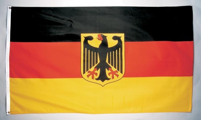 Deutschland mit Adler, ca. 90 x 150 cm