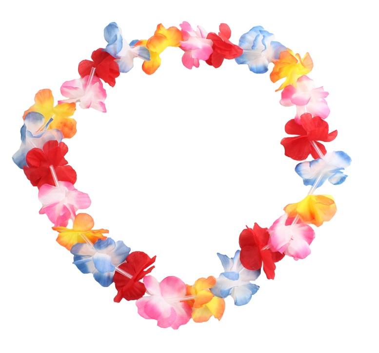 Hawaiiblumenkette - ca 105  cm