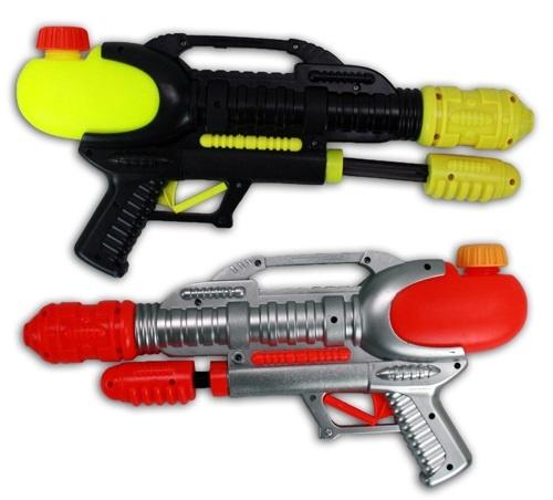 Wasserpistole - Pumpaktion 2-fach sortiert - ca 39cm