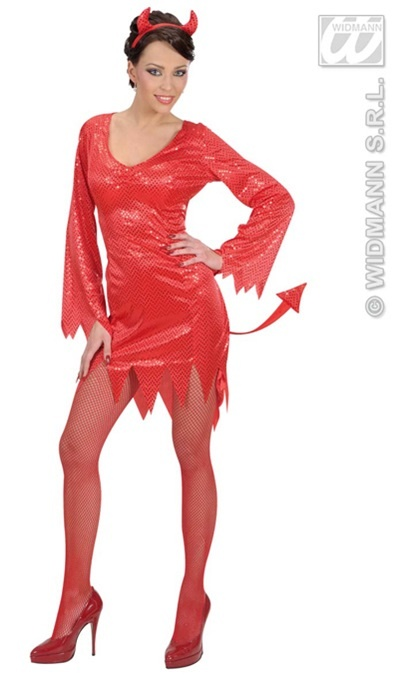 Kostüm - Teufelin Größe S