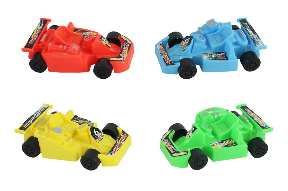 Go-Kart 4-farbig sortiert ca 8,5cm