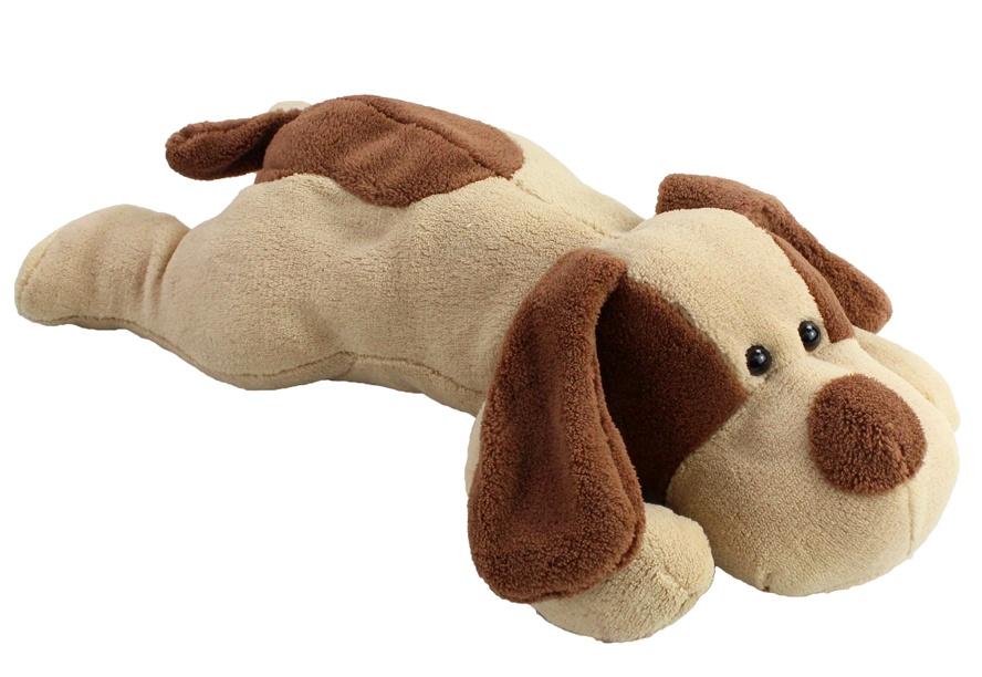 Hund liegend ca 45 cm