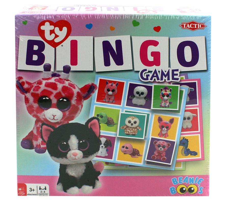 Goliath Ty Lotto Spiel Bingo - ca 21,5x21,5x5cm