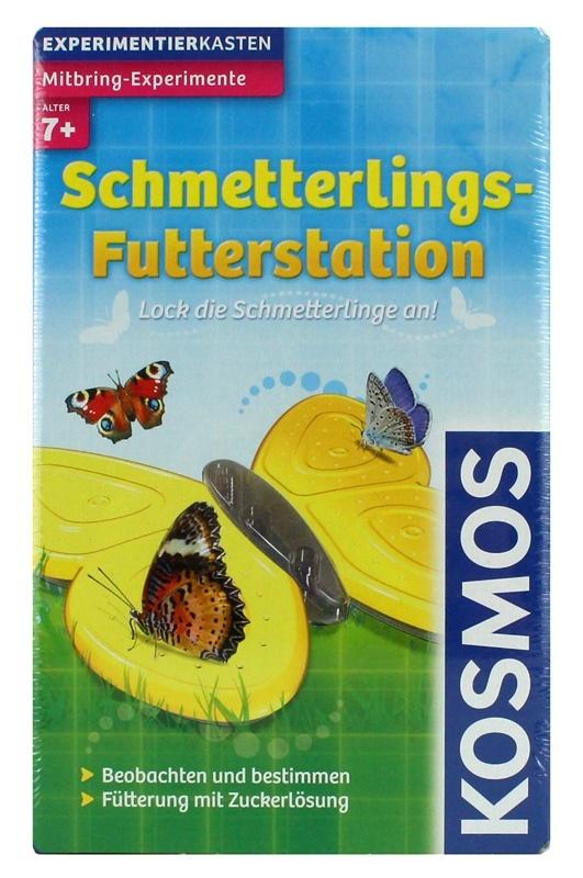 KOSMOS Schmetterlings Futterstation - in Box ca 21x13x5,5cm