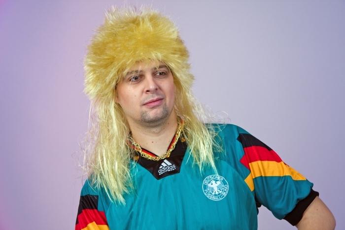 Herren-Perücke, blond
