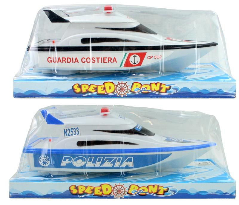 Boot mit elektrischem Antrieb 2-fach sortiert ca 29 cm