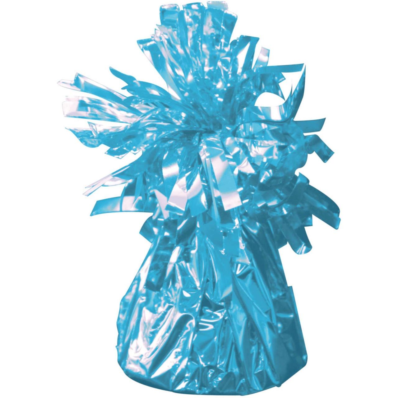 Ballongewicht in Folie hellblau ca 145-170 g
