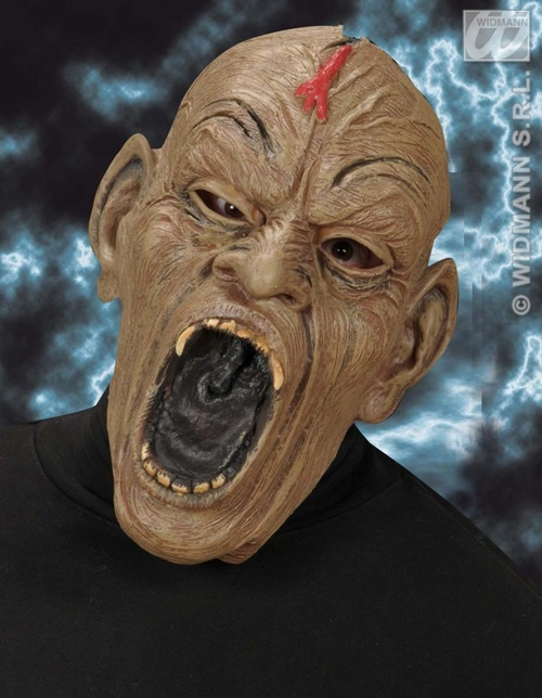 Maske - Zombie mit aufgerissenem Maul