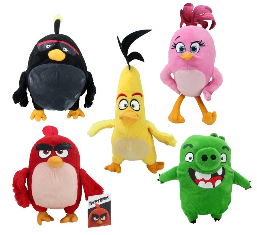 Angry Birds Movie 5 fach sortiert - ca 24-35 cm