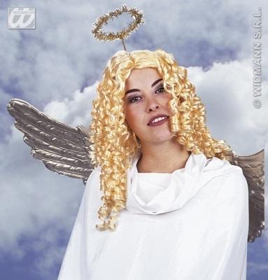 Perücke - Engel Lockenfrisur blond