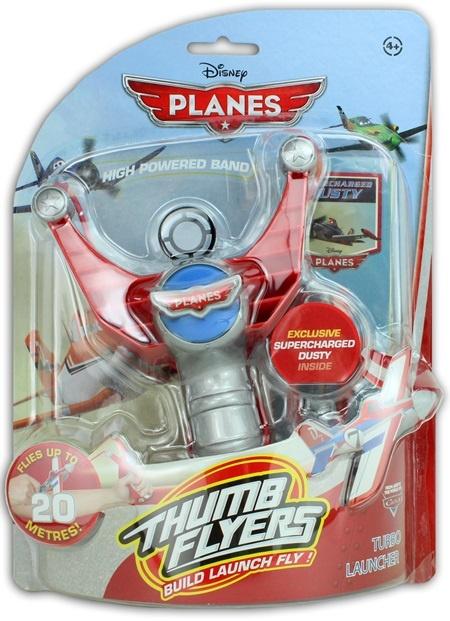 Disney Planes Daumenflieger  Katapult Spiel -  ca 26x19cm