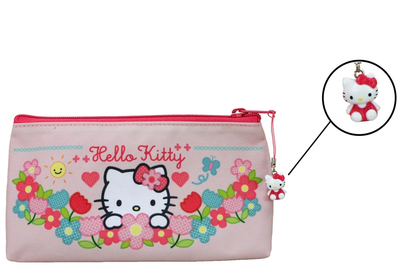 HELLO KITTY HOME SWEET HOME Schlamper Etui - ca 22x12cm