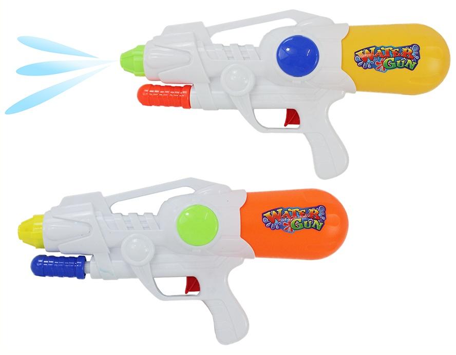 Wasserpistole 2-farbig sortiert - mit Pumpfunktion ca 33 cm